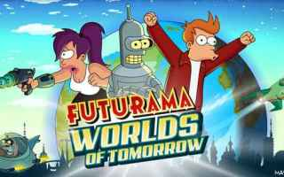 Mobile games: futurama android iphone cartoni giochi