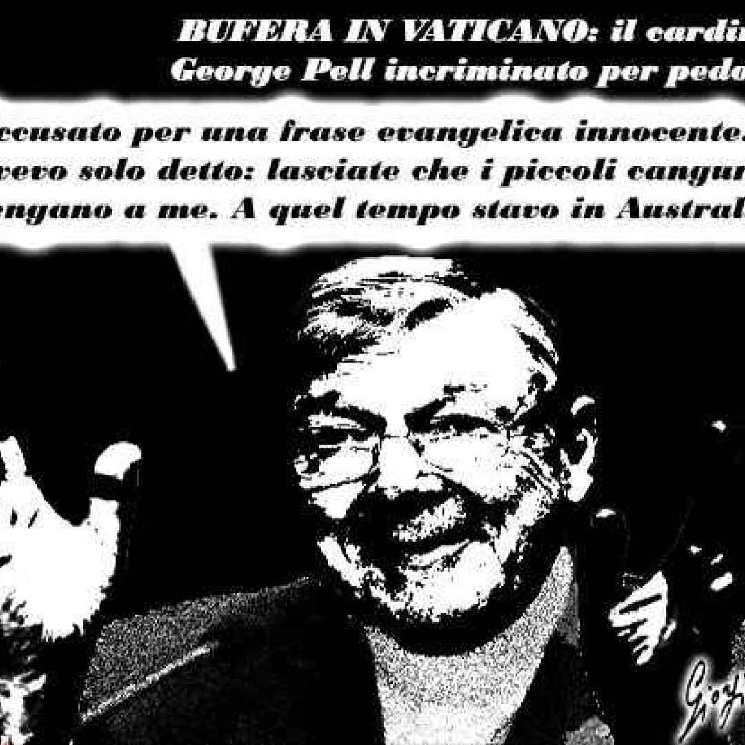 cardinale pell  pedofilia  vaticano