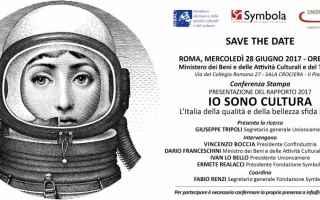 Cultura: symbola  italia  bellezza  unioncamere