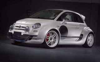 Motori: fiat 500  anniversario  auto  supercar