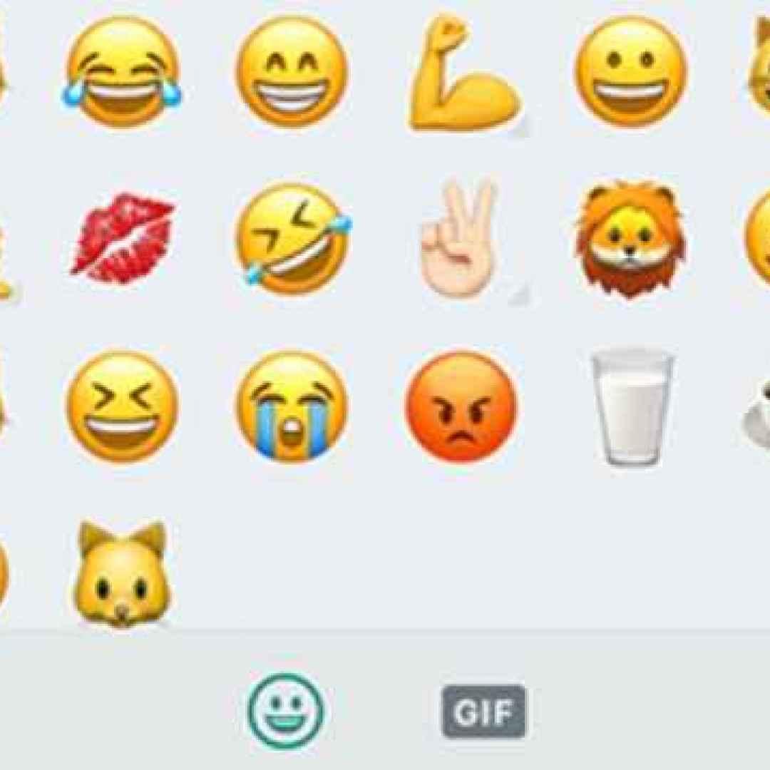 WhatsApp: ecco la ricerca delle emoji con le parole chiave.