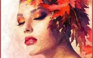 Cultura: donna  elaborazione grafica  poesia