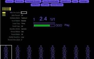 Audio: loop station  mobius  looper