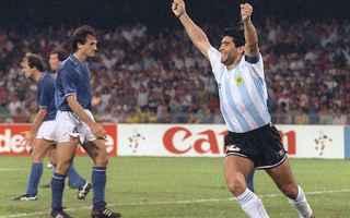 Nazionale: calcio  mondiali  italia  argentina  italia 90  maradona  caniggia