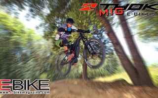 Ciclismo: thok mig  e-mtb test  nuova ebike