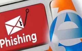 Sicurezza: truffa  email  phishing