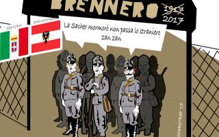 Satira: austria  esercito  immigrati