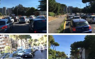 roma  traffico news