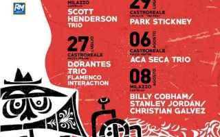 Spettacoli: viaggi  jazz  sicilia  borghi  festival