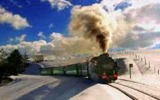 parco sila  treno a vapore  trasporti
