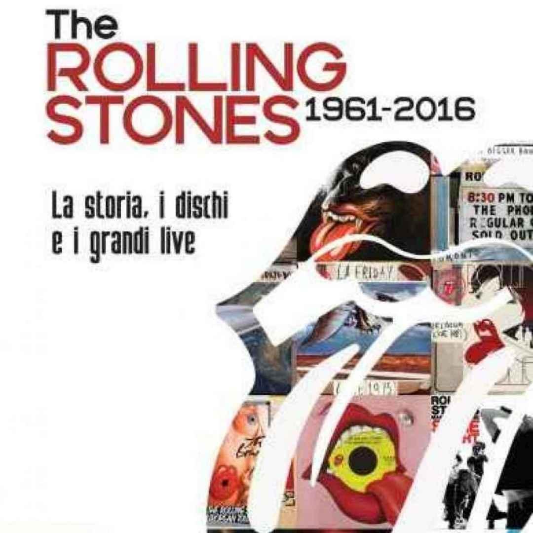 rolling stones  libri  musica