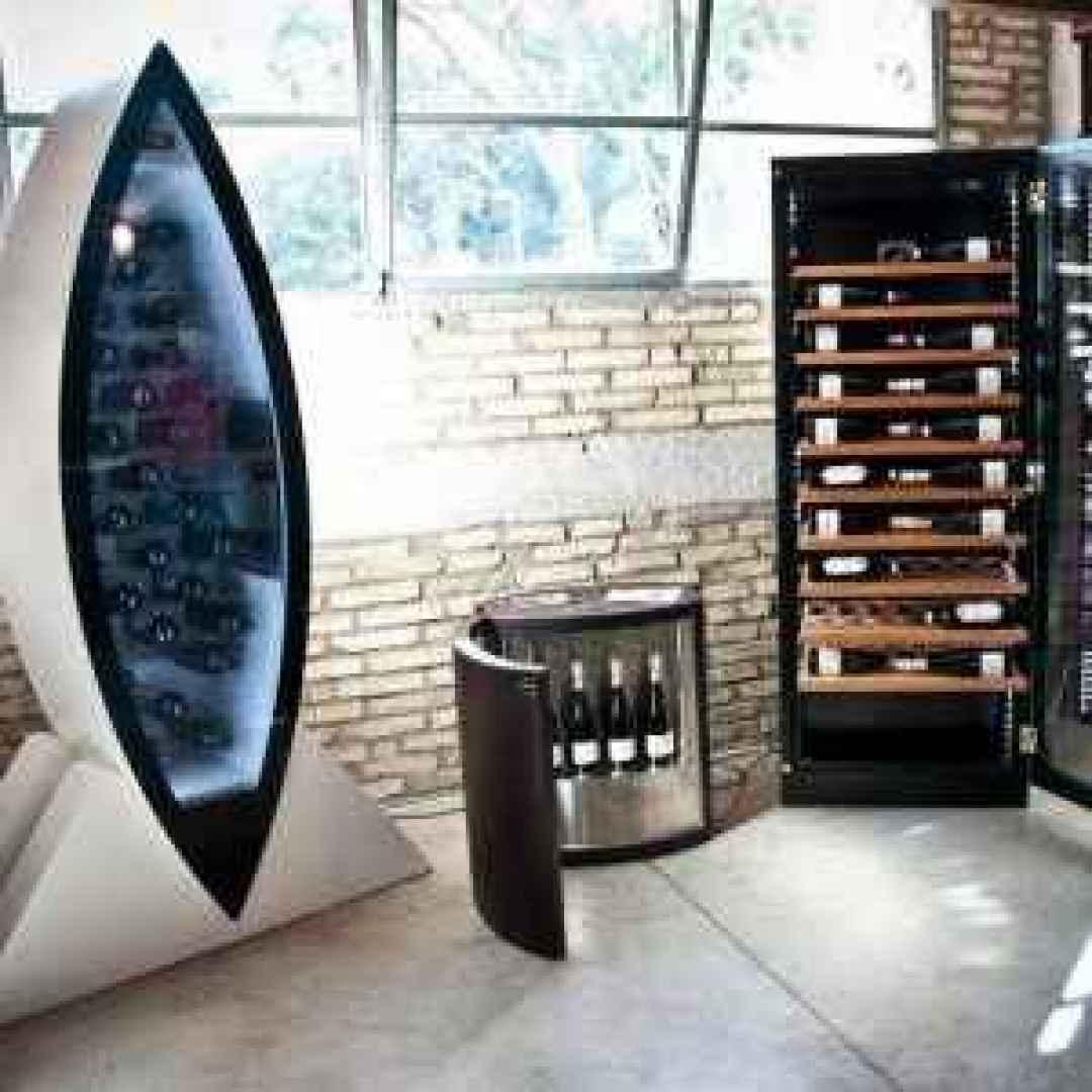 cantine  vino design  interior