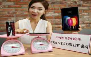 Tablet: lg g pad iv 8.0  tablet  android