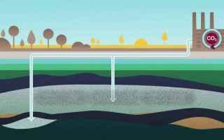 Le tecnologie di cattura e stoccaggio dellanidride carbonica potranno giocare un ruolo importante ne