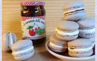 Ricette: macarons  dolci  pasticceria