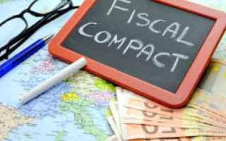 Fisco e Tasse: fiscal compact  trattato  euro