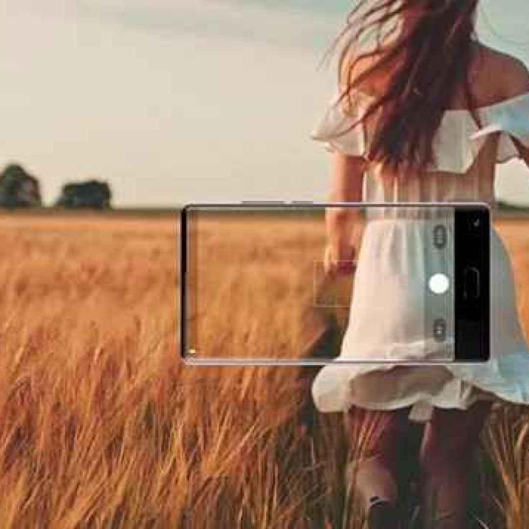 bluboo  smartphone  display  cornici