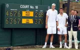Tennis: tennis  mahut  isner  wimbledon  record