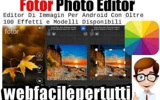 App: fotor app android fotografia