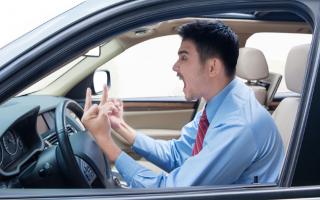 rage road  rabbia  auto  volante