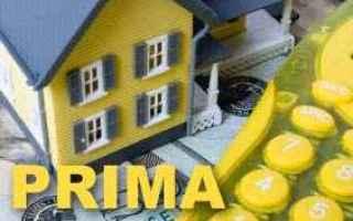Casa e immobili: prima casa  agevolazioni prima casa