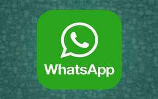App: whatsapp  aggiornamento  messaggistica