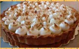 Ricette: torta  limone  meringa