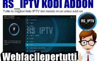 Software Video: rs iptv kodi addon