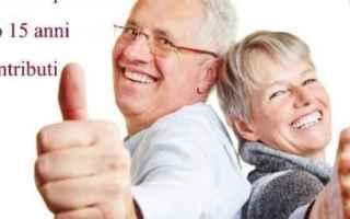 quota 96  pensioni  pensioni anticipate