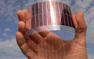 Una cella solare o cella fotovoltaica è un dispositivo elettrico che converte lenergia della luce d