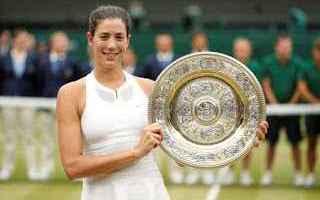 Tennis: tennis grand slam muguruza wimbledon