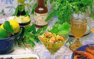 Ricette: aceto  àlifanti  àmmari  gamberi
