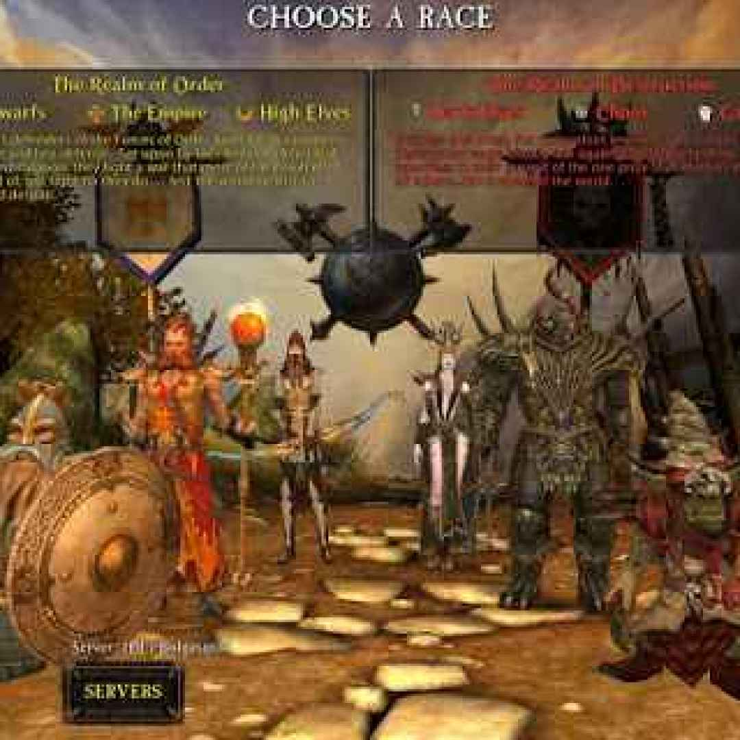mmorpg videogiochi giochi warhammer