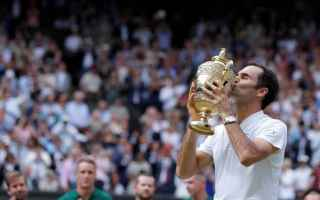 Tennis: tennis  wimbledon  federer