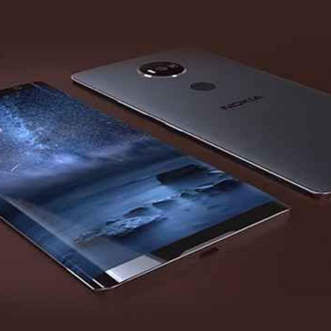 nokia  dual edge  smartphone