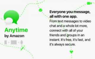 App: amazon  anytine  chat