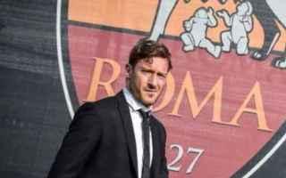 Calcio: totti roma calcio serie a  dirigente