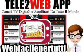 Video online: tele2web  app  streaming  android