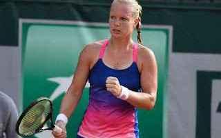 Tennis: tennis grand slam kiki bertens