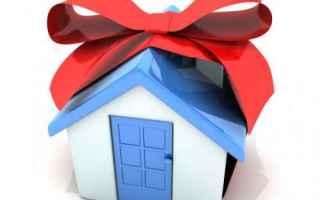 Casa e immobili: donazione  donazione immobile