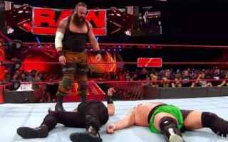 Sport: wrestling  wwe  raw  risultati  report