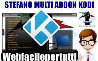 Software Video: kodi stefano multi addons