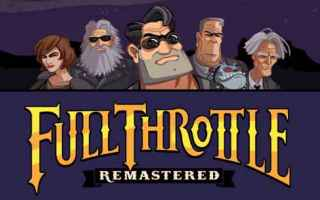 Mobile games: avventura  iphone  lucasarts  giochi  full throttle  retrogame
