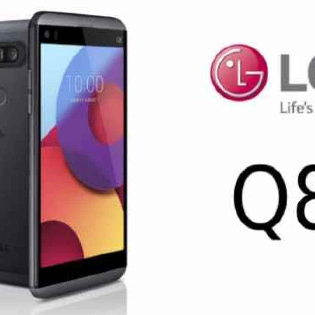 lg q8  smartphone  android