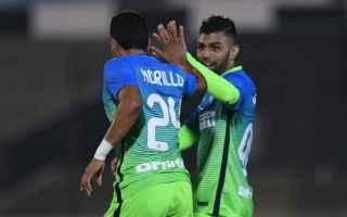 Calcio Estero: inter  amichevole  gabigol