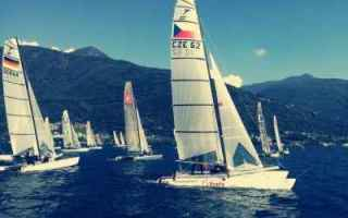 Vela: vela  regate  catamarani  europeo