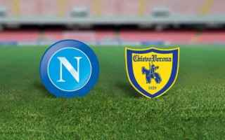 Serie A: napoli  chievo