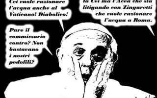 Satira: siccità a roma
