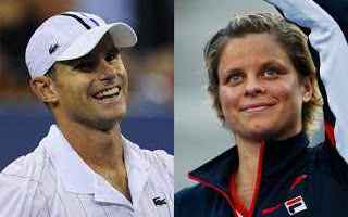 Tennis: tennis grand slam clijsters roddick