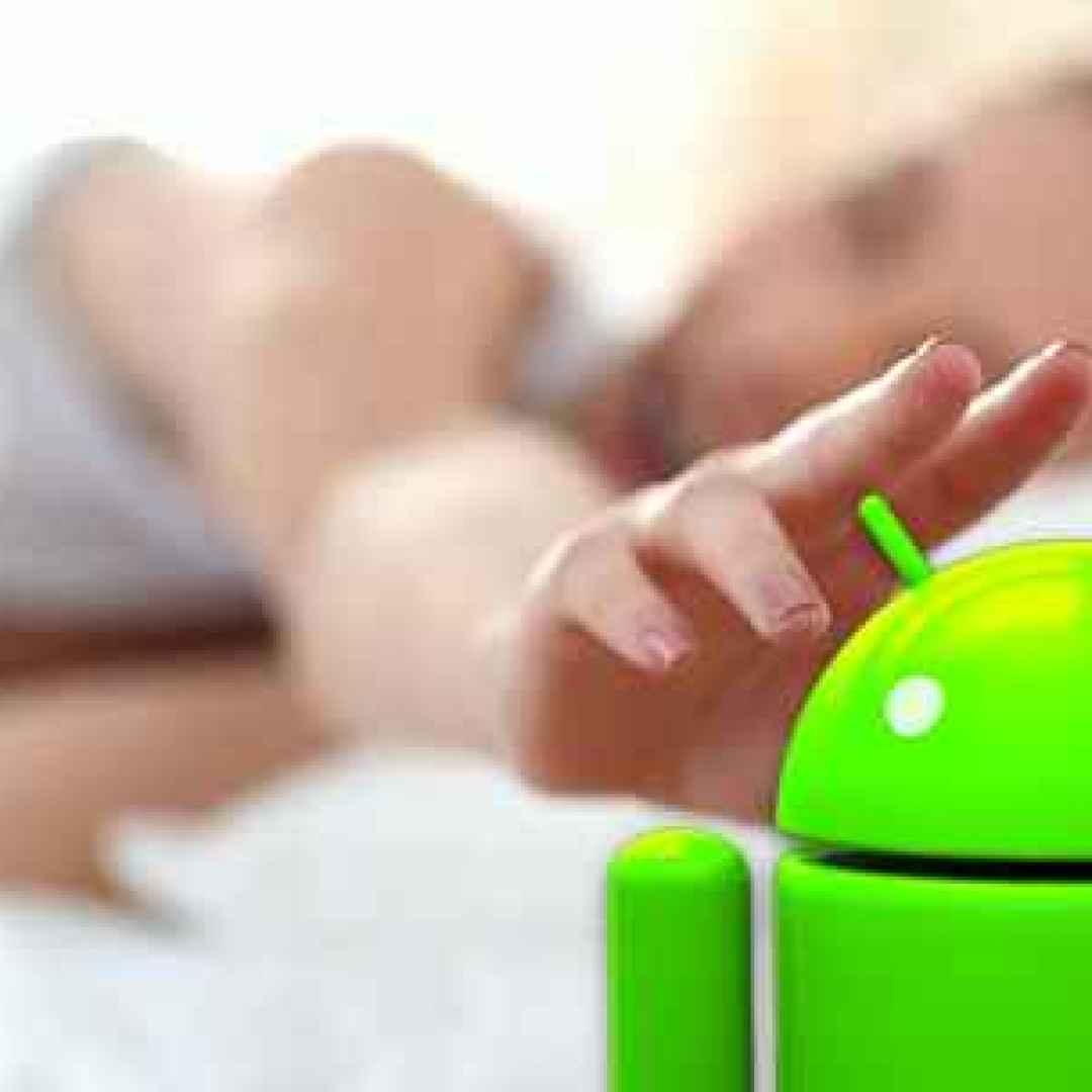sonno dormire salute android